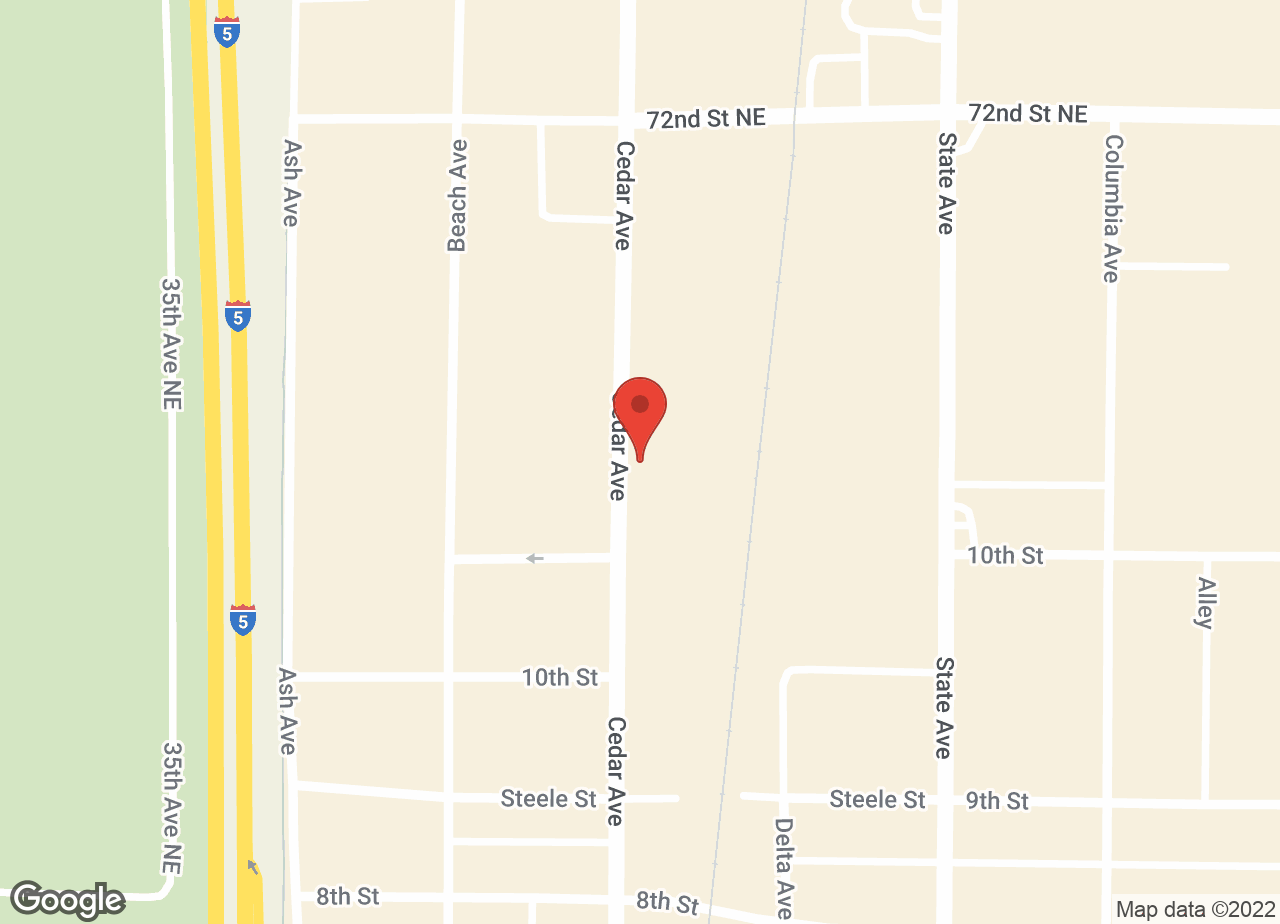 Google Map of VCA Animal Medical Center