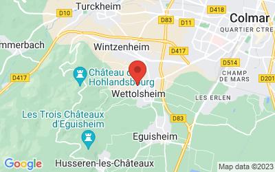 21 Rue Sainte-Gertrude, 68920 Wettolsheim, France