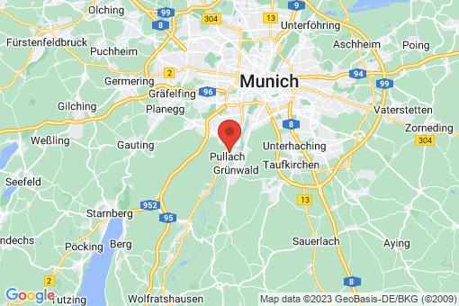 Karte Pullach im Isartal