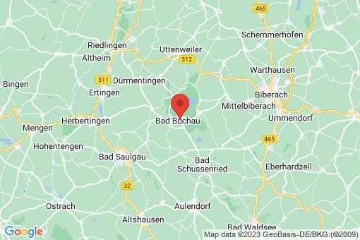 Karte Bad Buchau
