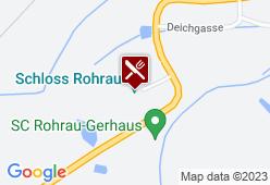 Schlosstaverne Rohrau (Kuruczen G'wölb) - Karte
