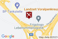Landzeit Restaurant Voralpenkreuz - Karte