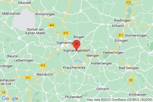Karte Sigmaringendorf
