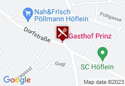 Gasthaus Prinz - Karte