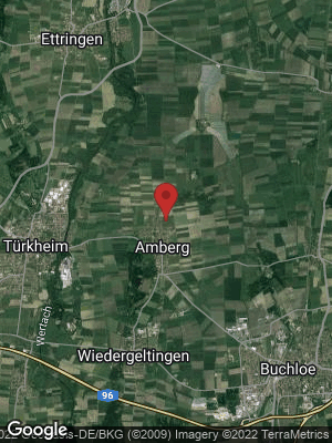 Google Map of Amberg bei Buchloe