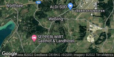 Google Map of Weßling