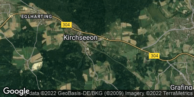 Google Map of Kirchseeon