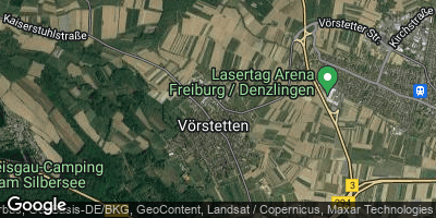 Google Map of Vörstetten