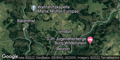 Google Map of Irndorf