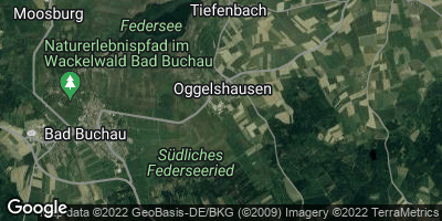 Google Map of Oggelshausen