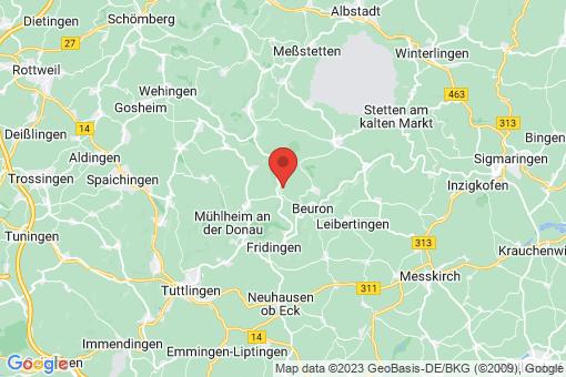 Karte Bärenthal