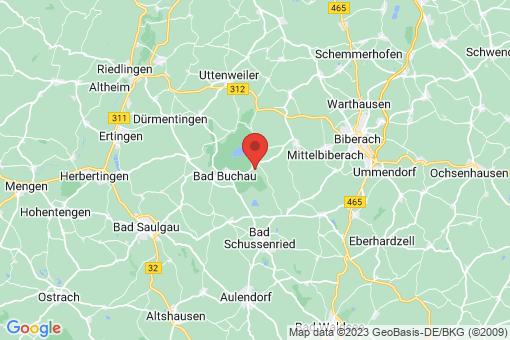 Karte Oggelshausen