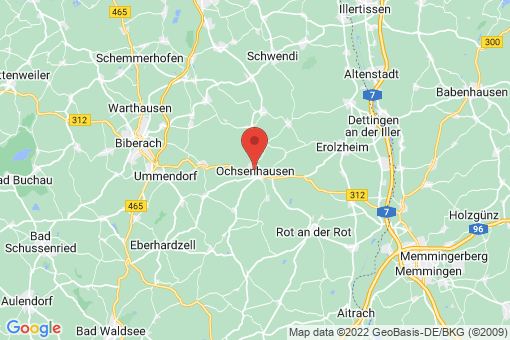 Karte Ochsenhausen