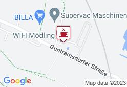 Cafeteria im WIFI Mödling - Karte