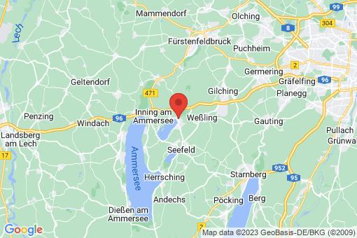Karte Wörthsee