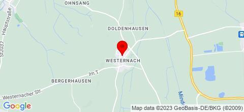Google Map für Mayrs Herberge