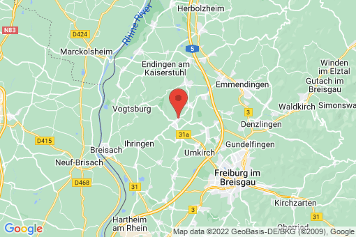 Karte Bötzingen
