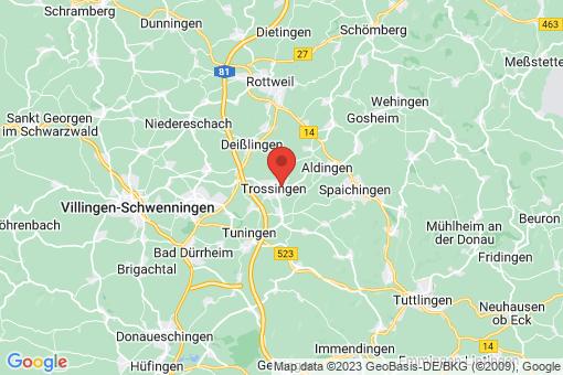 Karte Trossingen