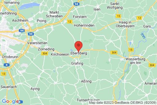 Karte Ebersberg