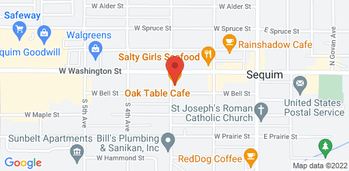 Directions to Oak Table Cafe