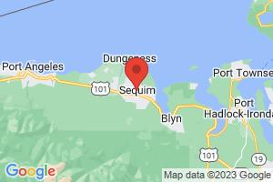 Map of Sequim