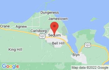 Map of Sequim