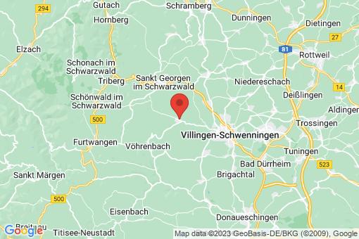 Karte Unterkirnach