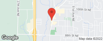 Map of 9414 State Ave in Marysville