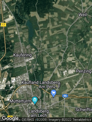 Google Map of Kaufering