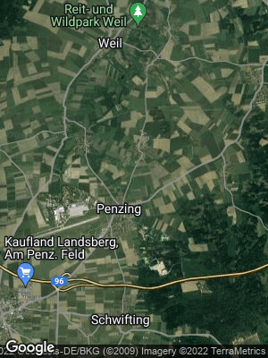 Google Map of Penzing im Auerbergland