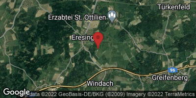 Google Map of Eresing
