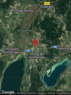 Google Map of Inning am Ammersee