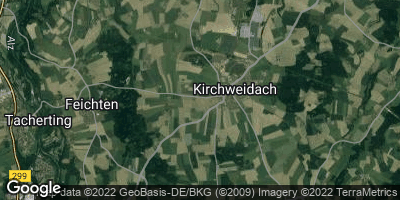 Google Map of Kirchweidach
