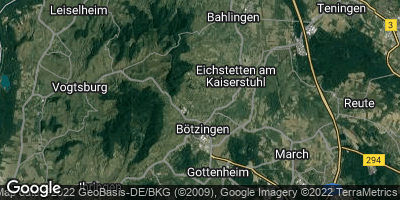 Google Map of Bötzingen