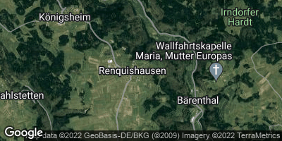Google Map of Renquishausen