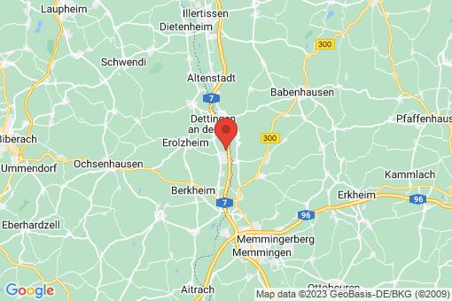 Karte Kirchdorf an der Iller