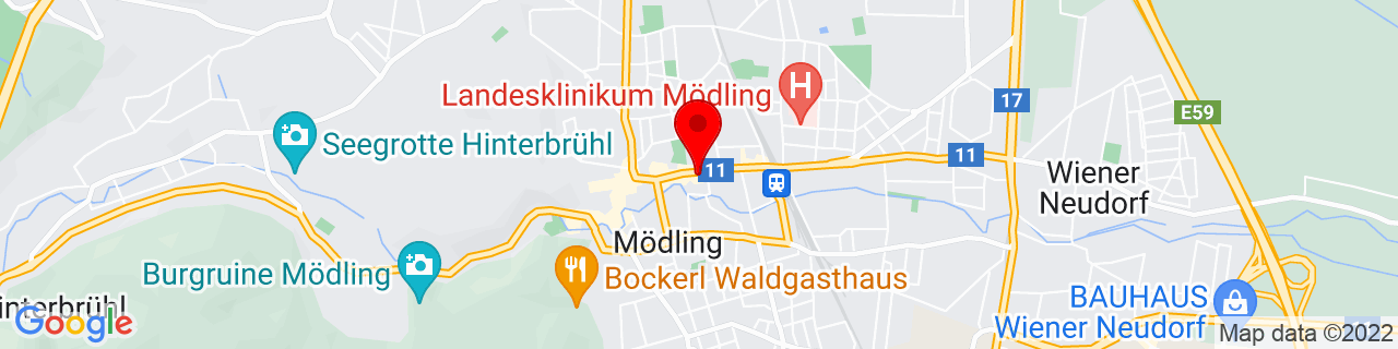 Google Map of 48.08605, 16.28921