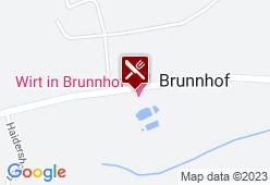Wirt in Brunnhof - Karte