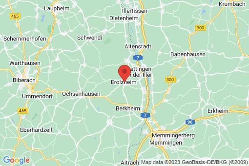 Karte Erolzheim