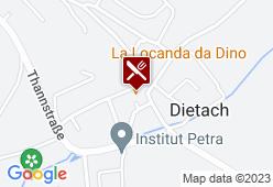 Gasthaus Kirchenwirt Dietach - Karte