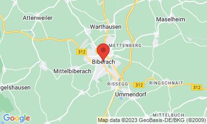Arbeitsort: Biberach an der Riß, Memmingen, Bellenberg, Günzburg, Neuhausen ob Eck, Ostrach