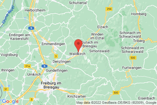 Karte Waldkirch