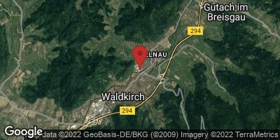 Google Map of Waldkirch
