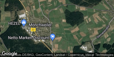 Google Map of Mönchweiler