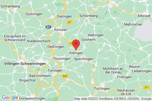 Karte Aldingen