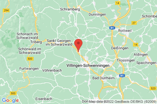 Karte Mönchweiler