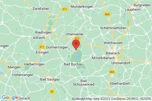 Karte Alleshausen