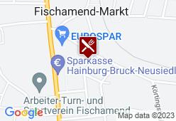 Gasthaus - Volksheim Bischinger - Karte
