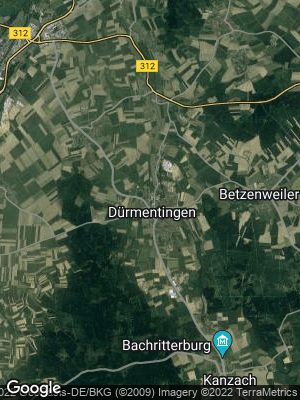 Google Map of Dürmentingen