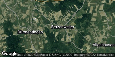 Google Map of Betzenweiler